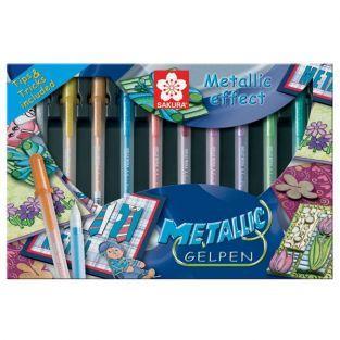 Kit Stylos Gel effet métallique Gelly Roll