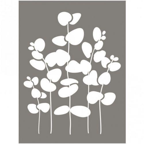 Stencil 15 x 20 cm - Eucalyptus