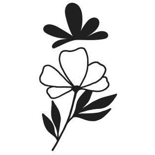 Matrice de découpe Fleur