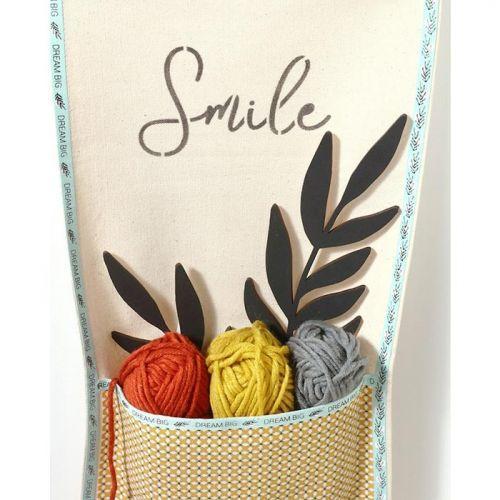 6 ribbons 1 m - Good vibes