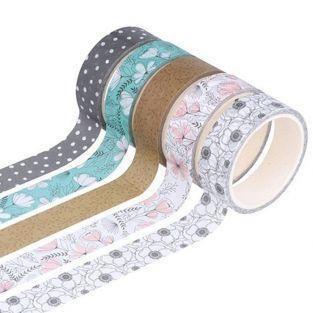5 masking tapes 5 m - Buenas vibraciones