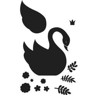 Troquel de corte 9,6 x 9,3 cm - Cisne