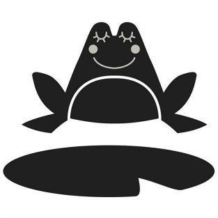 Matrice de découpe grenouille 5,3 x 8,5 cm