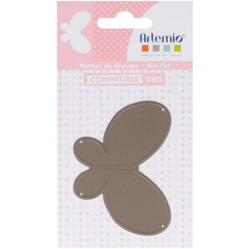 Thinlits cutting dies 5.5 x 7.6 cm - Butterfly