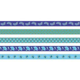 5 masking tapes bleus 5 m - Paon