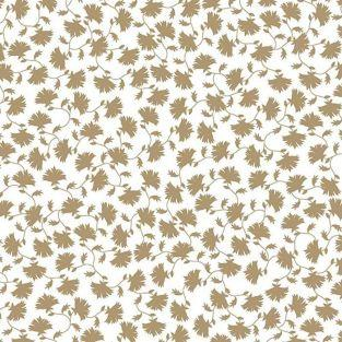 Japanese tracing paper 90 g/ m² - 30 x 30 cm - Golden Japan flowers