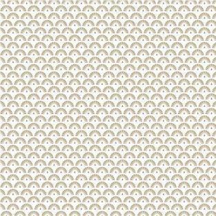 Papier calque japonais 90 g/ m² - 30 x 30 cm - Paons dorés