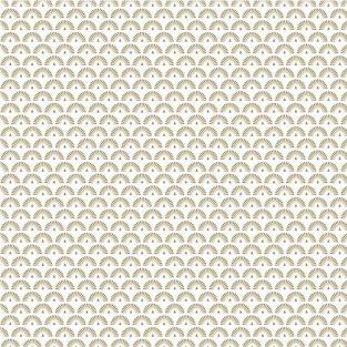 Papel de calco japonés 90 g/ m² - 30 x 30 cm - Pavos reales dorados