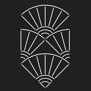 Plantilla - Abanico japonés