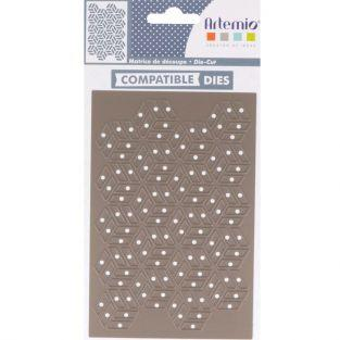 Thinlits cutting die 13 x 9.3 cm - Cubes