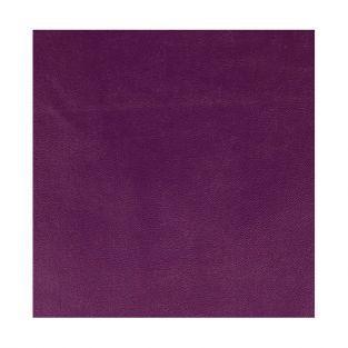 Feuille simili cuir 350 g/ m² - 30 x 30 cm - Violet