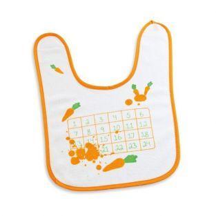 Bavoir Bingo carotte