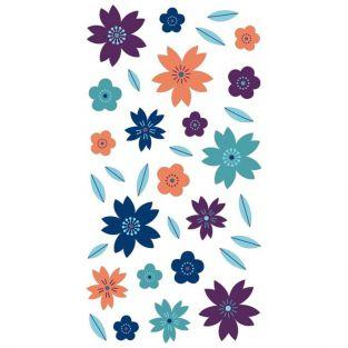 3D puffies stickers - Flowers
