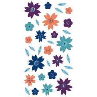 Pegatinas puffies 3D - Flores
