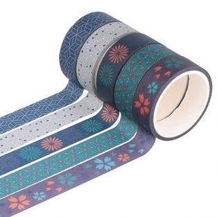 5 washi tapes 5 m - Japón