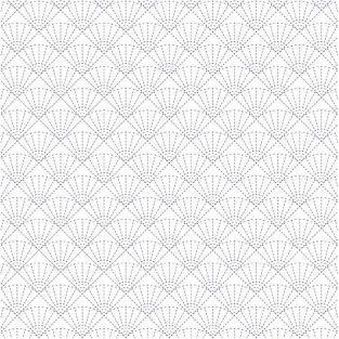Papel de calco japonés 90 g/ m² - 30 x 30 cm - Abanicos