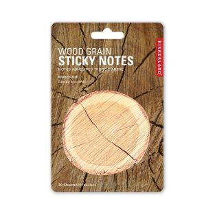 Wood grain Sticky notes