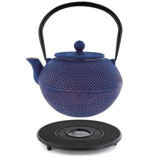 Song Cast iron teapot 1.2 liter & black sub-teapot