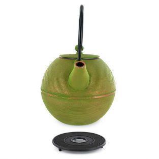 Ming Cast iron teapot 0.8 liter & black sub-teapot