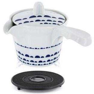Kyoto Cast iron teapot 0.8 liter & black sub-teapot