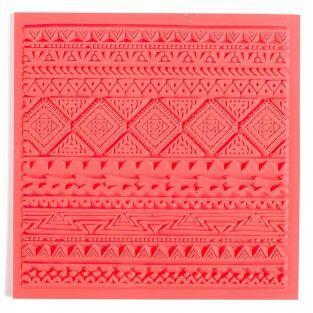 Tapis de texture pour FIMO - Ethnique