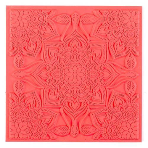 Polymer clay texture sheet - Bohemian chic