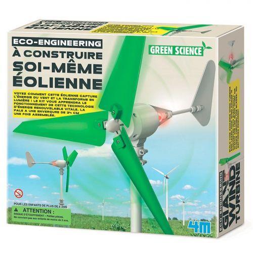 Juego educativo científico - Construye tu Turbina de viento