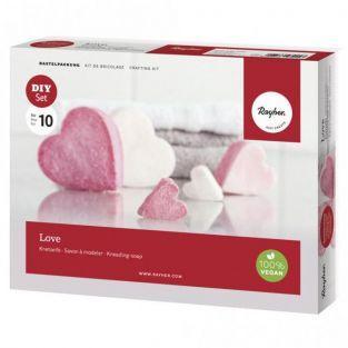 Kit de bricolaje - jabón casero - Amor