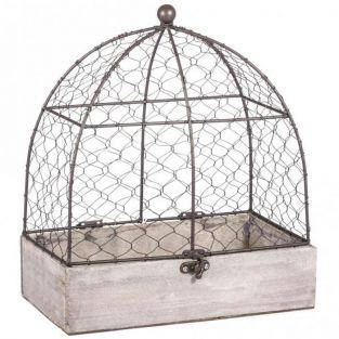 Decorative aviary 25 x 14 x 29 cm