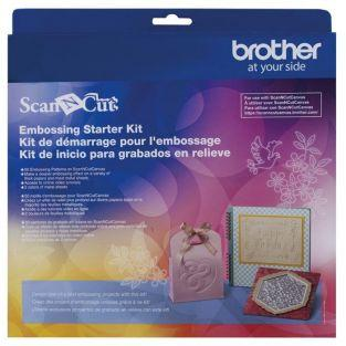 ScanNCut Embossing starter kit