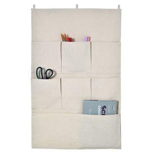 Rangement mural en tissu 50 x 80 cm