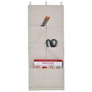 Fabric wall organizer -  27 x 65 cm