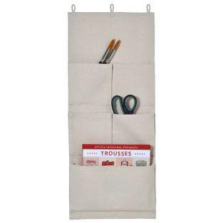 Organizador de pared de tela 27 x 65 cm