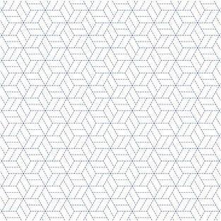 Papel de calco japonés 90 g/ m² - 30 x 30 cm - Estrellas