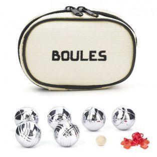 Mini set petanque balls