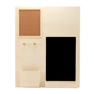 Office wood organizer 39.5 x 49.5 x 7 cm