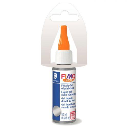 FIMO liquid gel 50 ml - silver