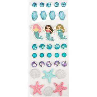 33 stickers 3D - Mer