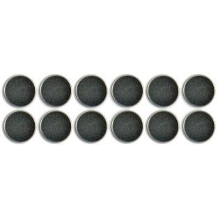 12 aimants ronds extra forts 1,2 cm