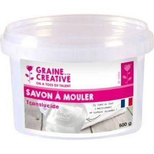 Bloque de jabón para moldear 500 g - transparente