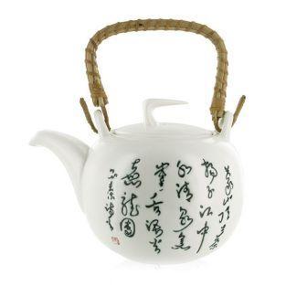 Tetera de loza Jiangxi - 1 litro