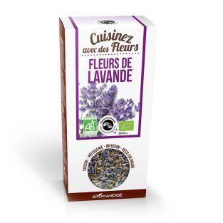 Fleurs comestibles bio - Fleurs de Lavande 40 g