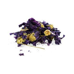 Organic edible flowers - Mallow flowers 15 g