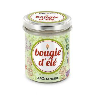 Summer candle - lemongrass & geranium - 30h