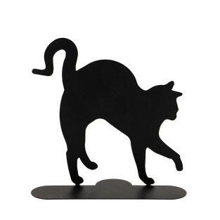 Spiral incense holder - Black cat