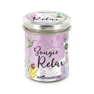 Bougie d'ambiance Relax - 30h