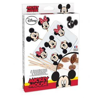 Moldes de piruletas de chocolate Mickey & Minnie Mouse