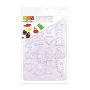 Plastic mold for candies & chocolates