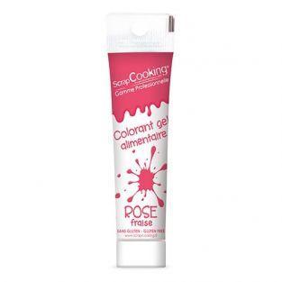 Colorant alimentaire en gel 20 g - rose foncé