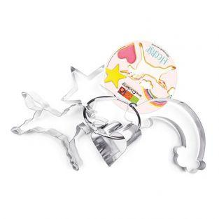 4 cookie cutters - Unicorn